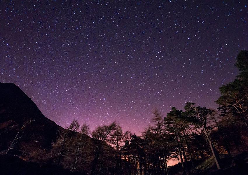 «заповедник Темного неба» Уэльса