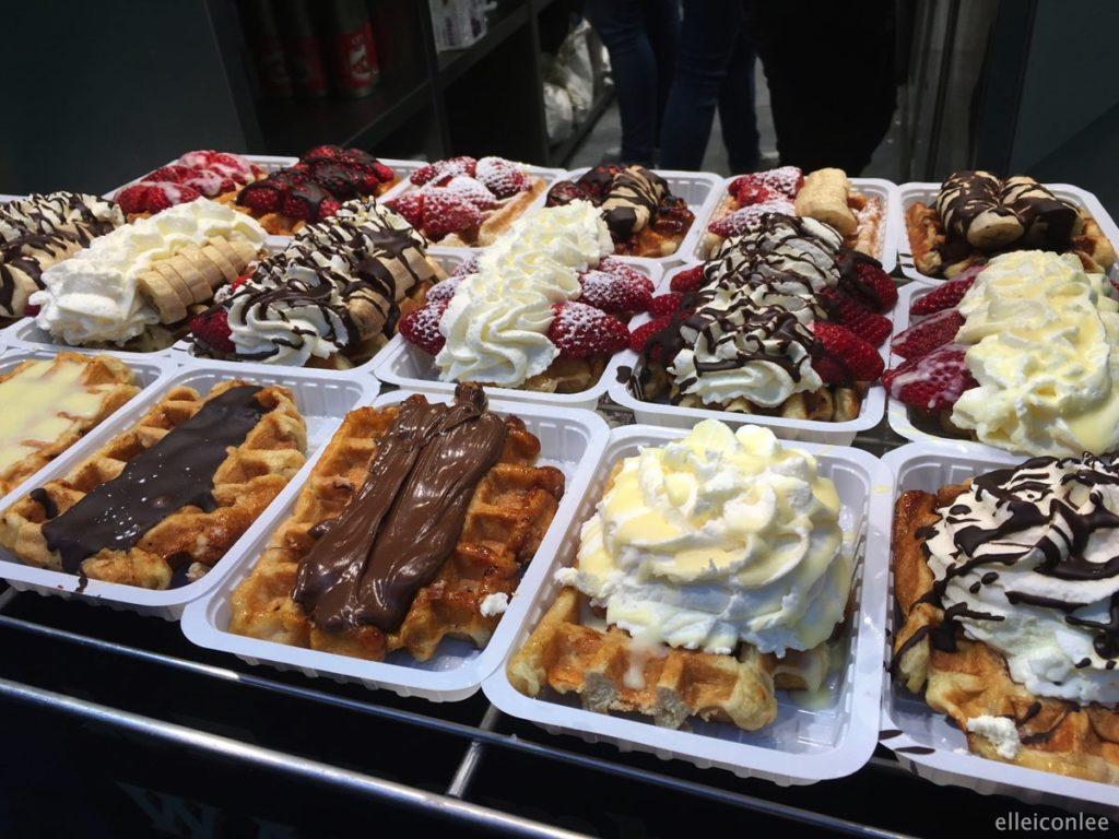 Бельгия еда