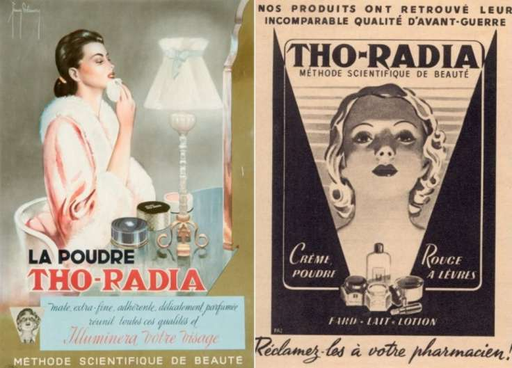 Tho-radia крем с радиацией