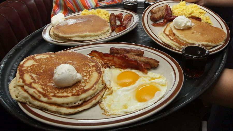 США завтрак