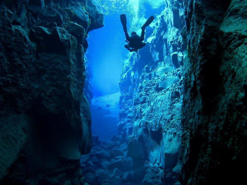 Трещина-Силфра-Исландия