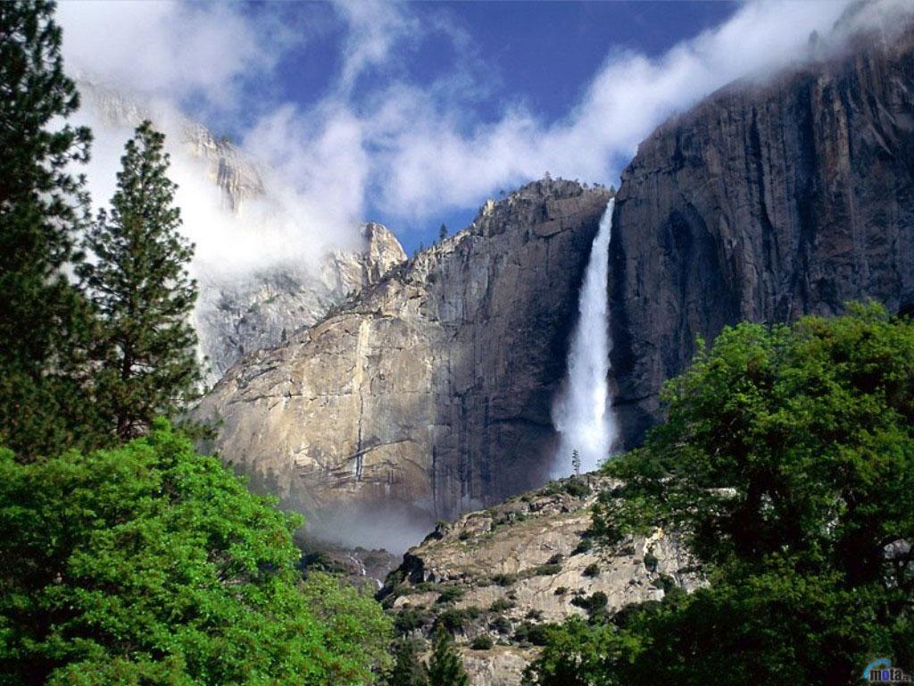 Водопад Йосемити, США