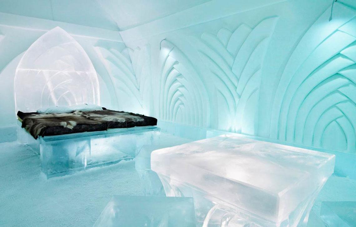 Ледяные домики, Швеция