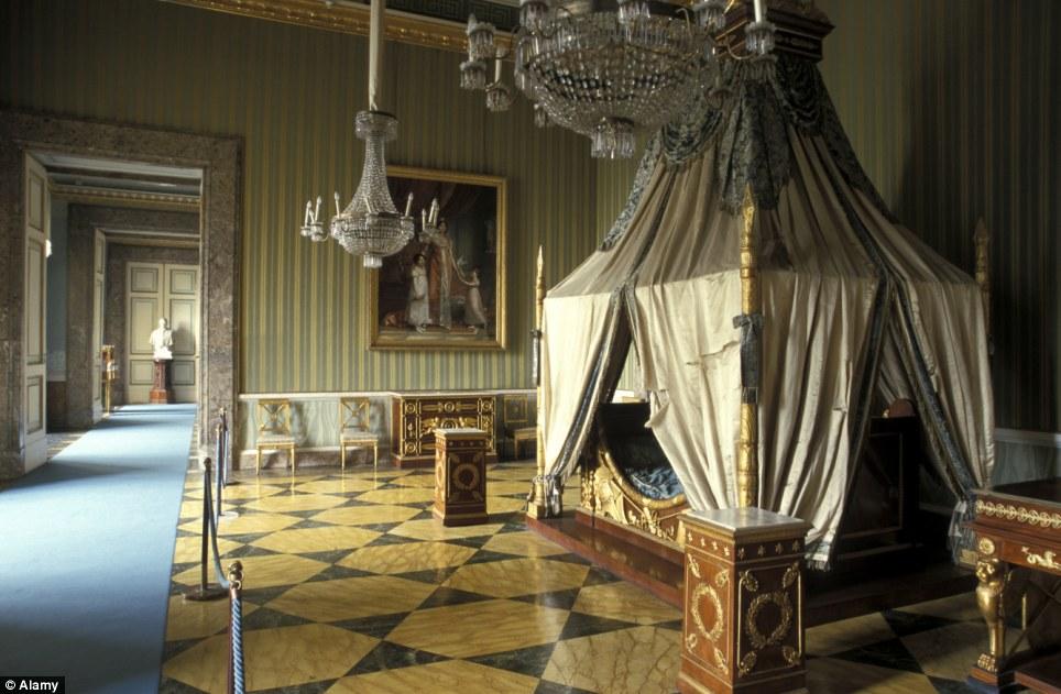 Спальня Квинс, Букингемский Дворец, Англия
