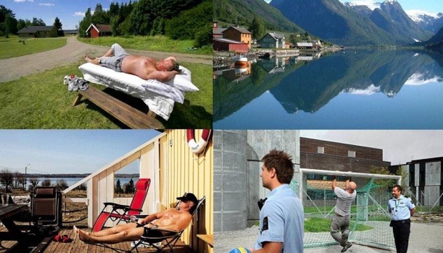 Bastoey Island тюрьма строгого режима, Норвегия