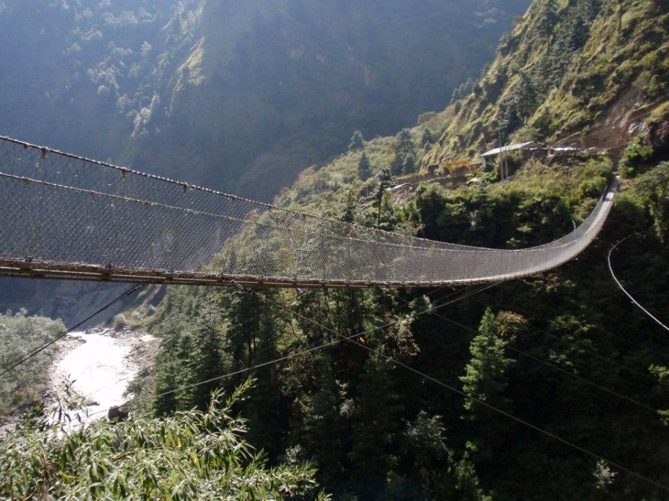 Висячий-мост-Гасы-Непал