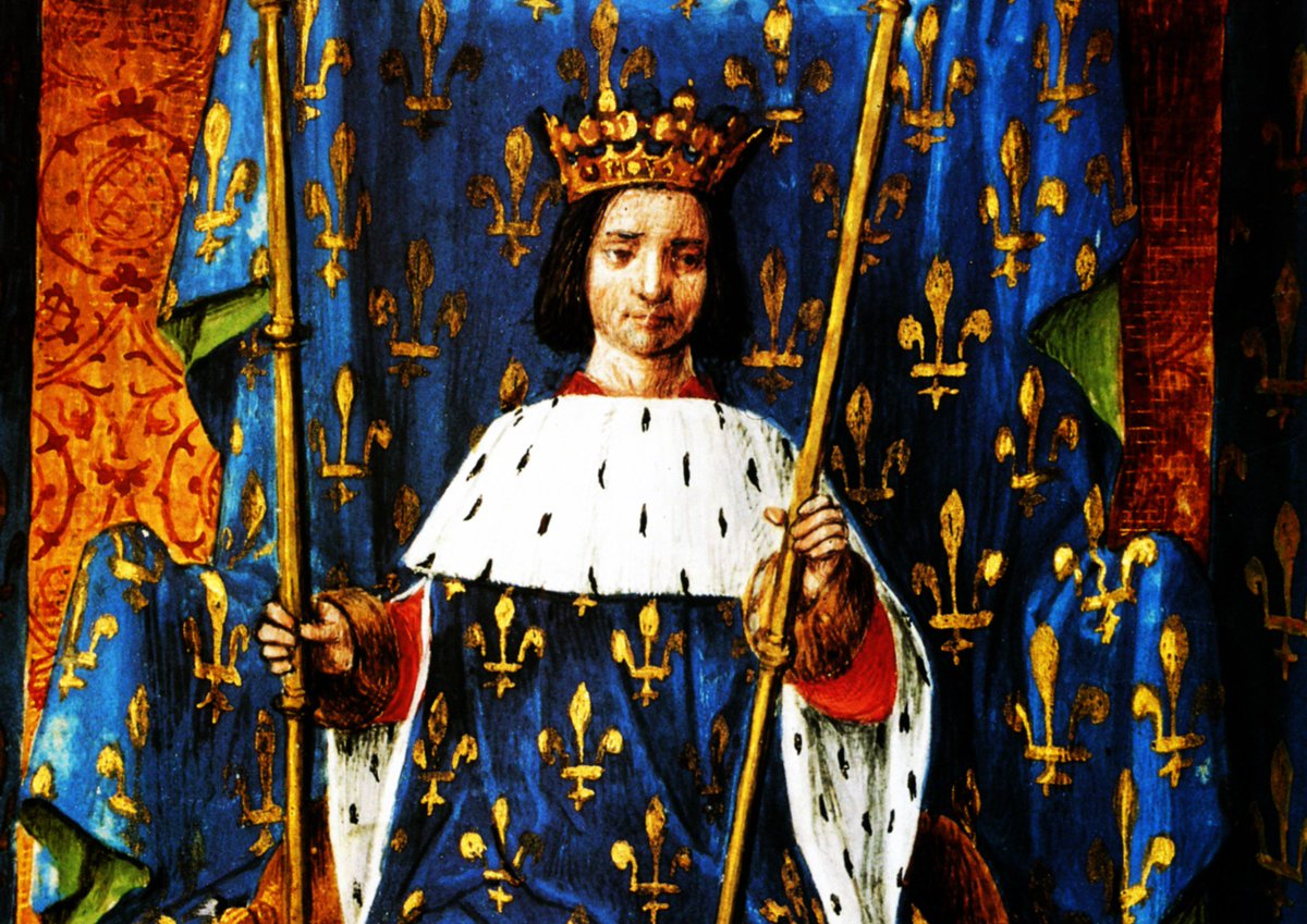 Карл VI, Франция