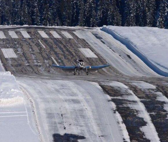 Международный аэропорт Куршевель