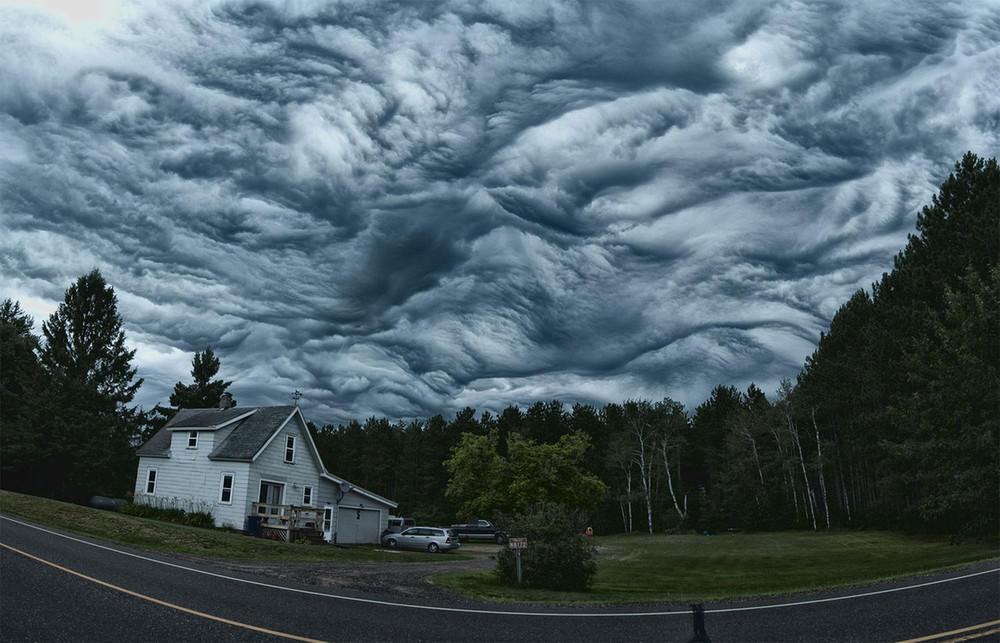 Облака Asperatus