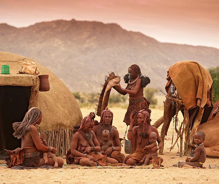 Оленеводы химба, Намибия, Африк