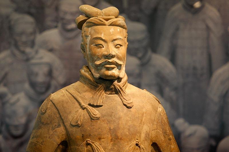 Цинь шихуан-Ди (260 г. до н. э. — 210 до н. э.)