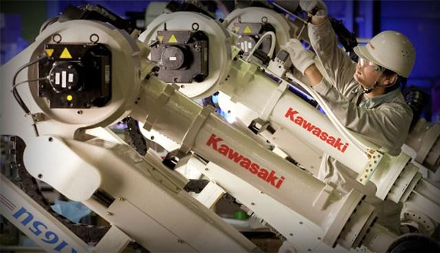 Восстание роботов Кавасаки в Японии