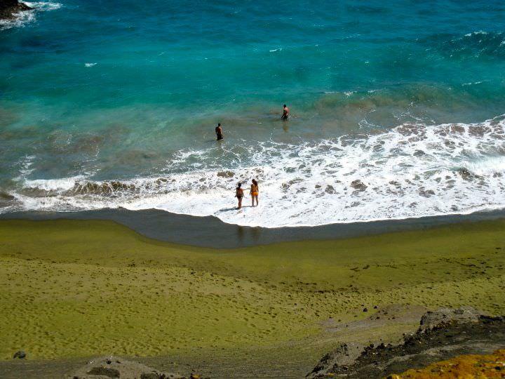 Зеленый песок, Куру, Французская Гвиана