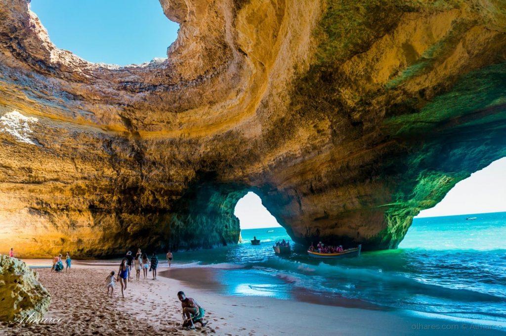 Морская Пещера Бенагил, Португалия