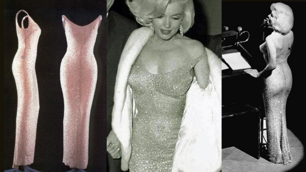 Мэрилин Монро в платье