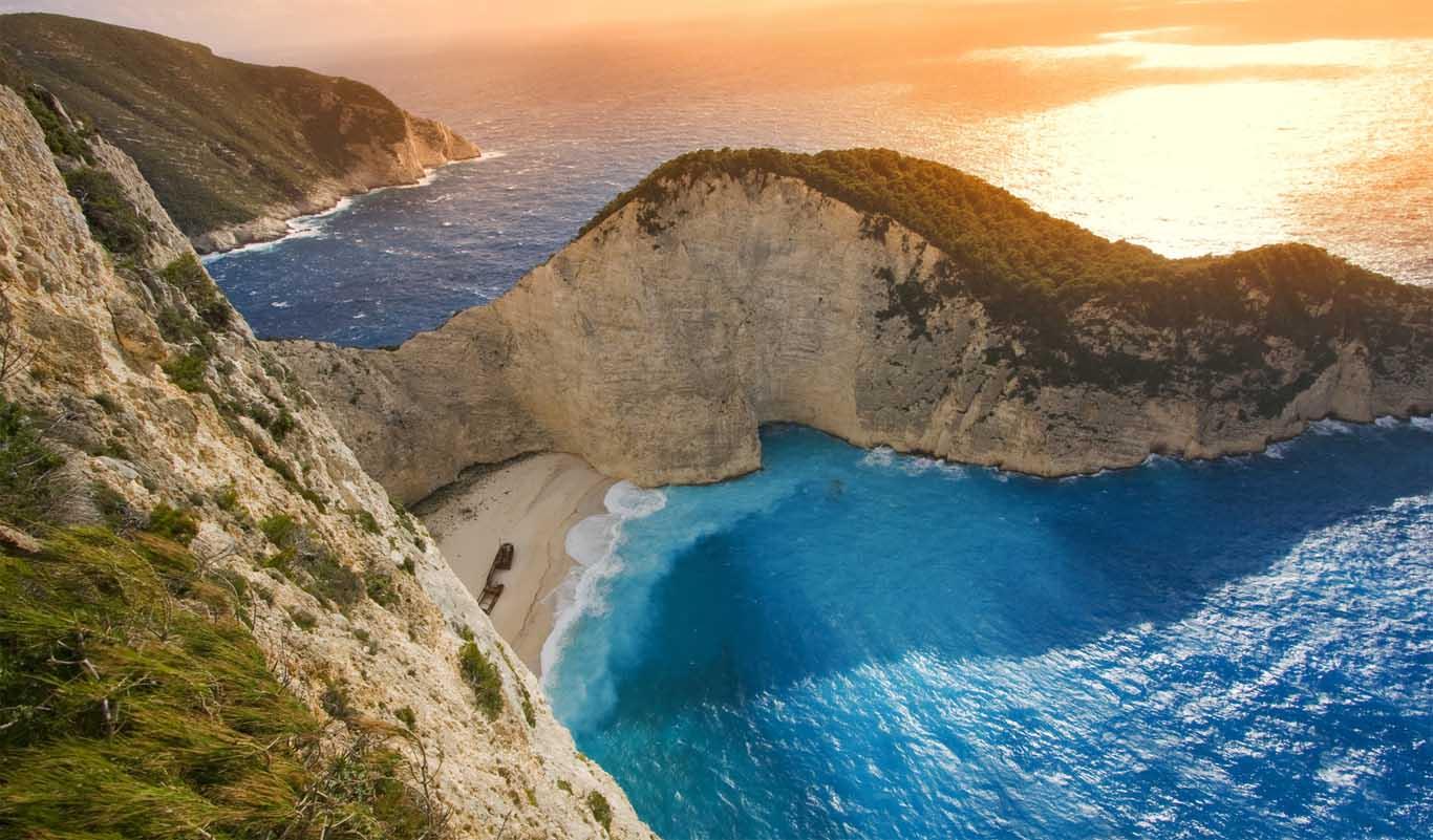 Пляж Навагио, Закинтос, Греция