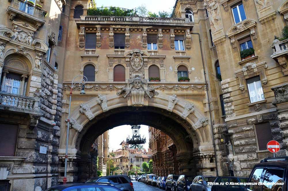 Район Коппеде в Риме