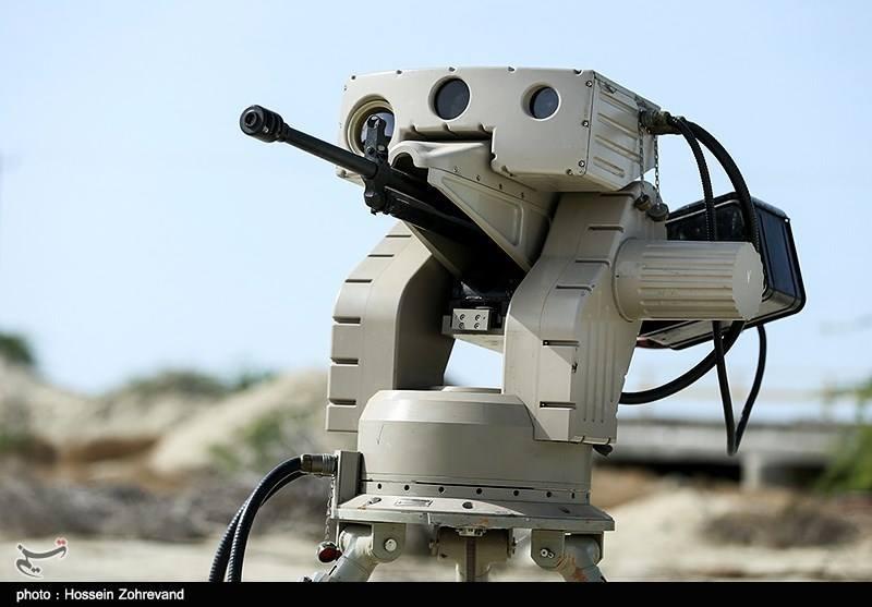 Роботизированная пушка в Южной Африке