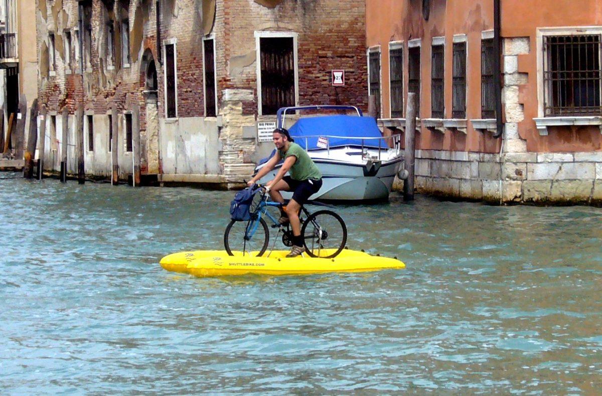 велосипед в венеции