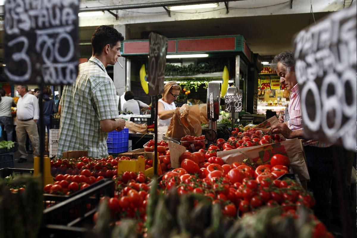 рынок Тестаччо в Риме