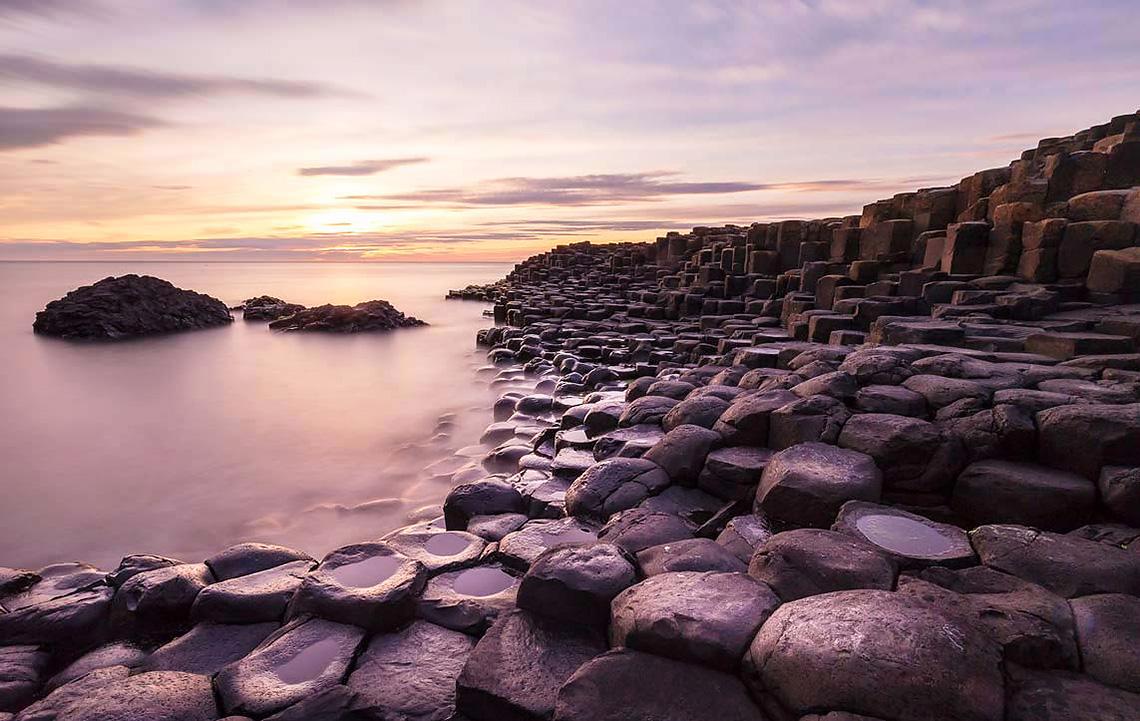 Giants Causeway Beach, Ирландия
