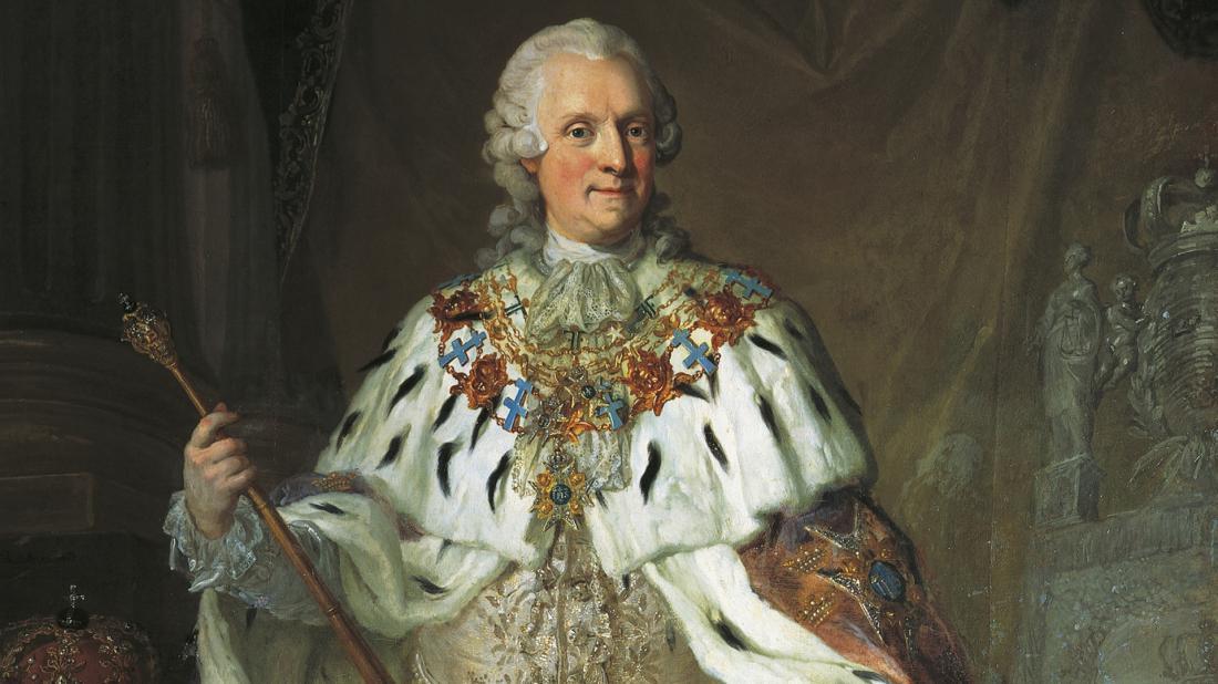 Адольф Фредрик шведский король