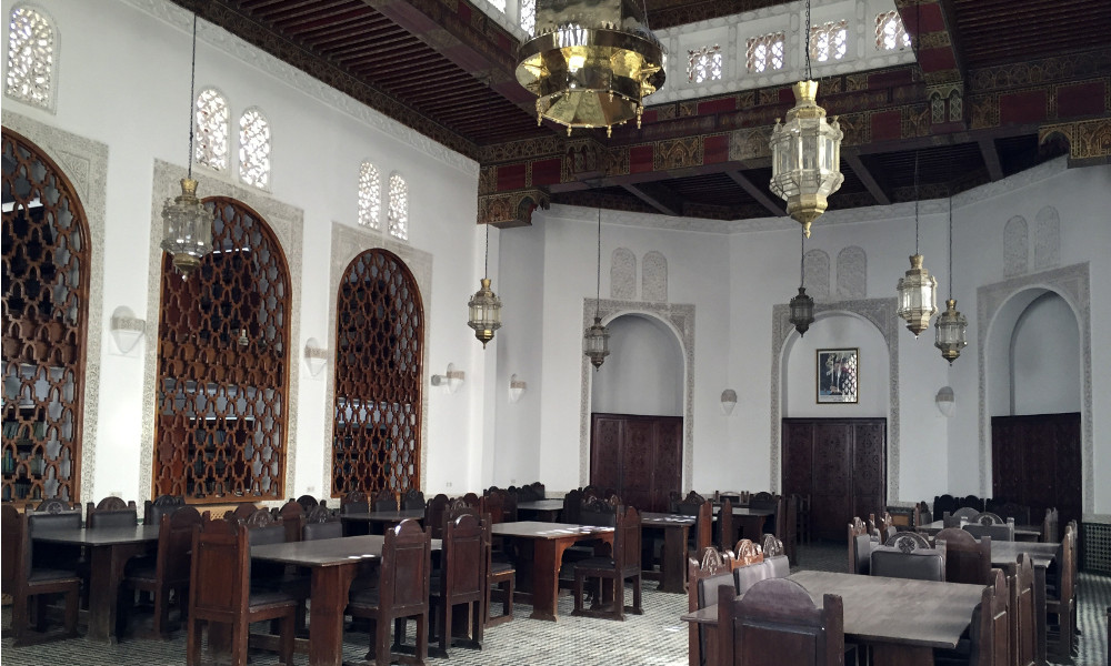 Библиотека университета Аль-Каравийин в Фесе