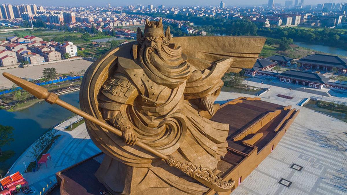 Бог войны, Цзинчжоу, Китай