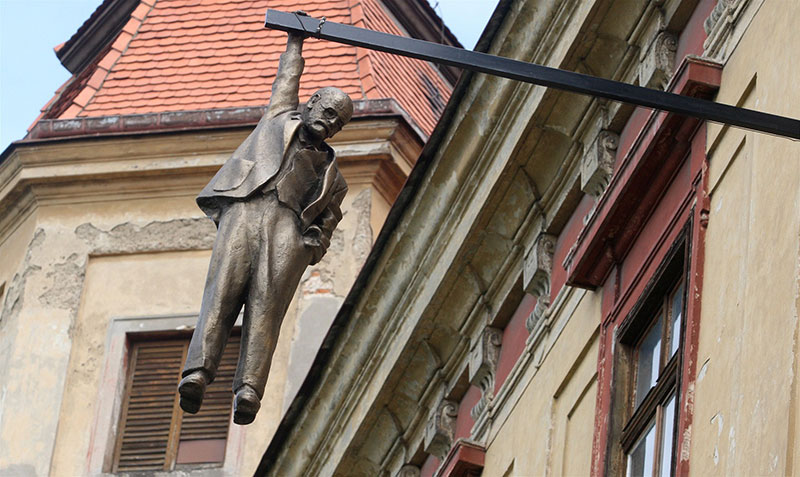 Висельник Давид Черный, Прага, Чешская Республика