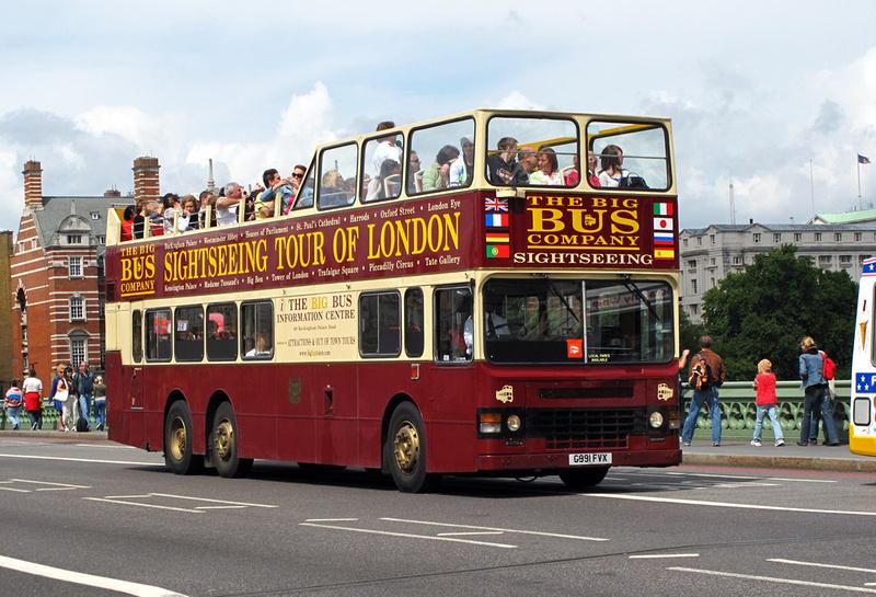 Возьмите автобусную экскурсию с открытым верхом
