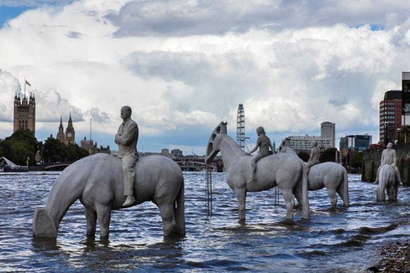 Волна Джейсон Dekers Тейлор, Лондон, Великобритания
