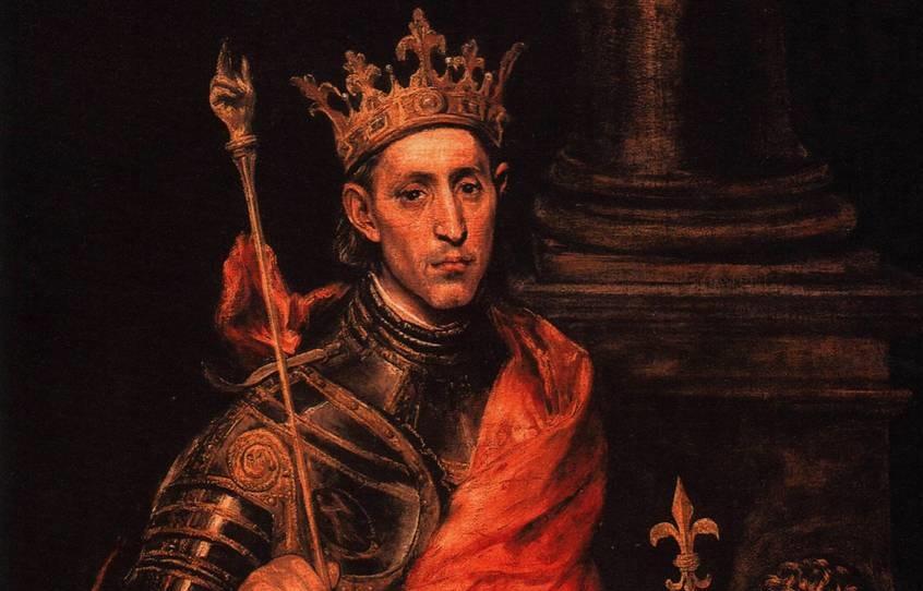 Людовик III король Франции