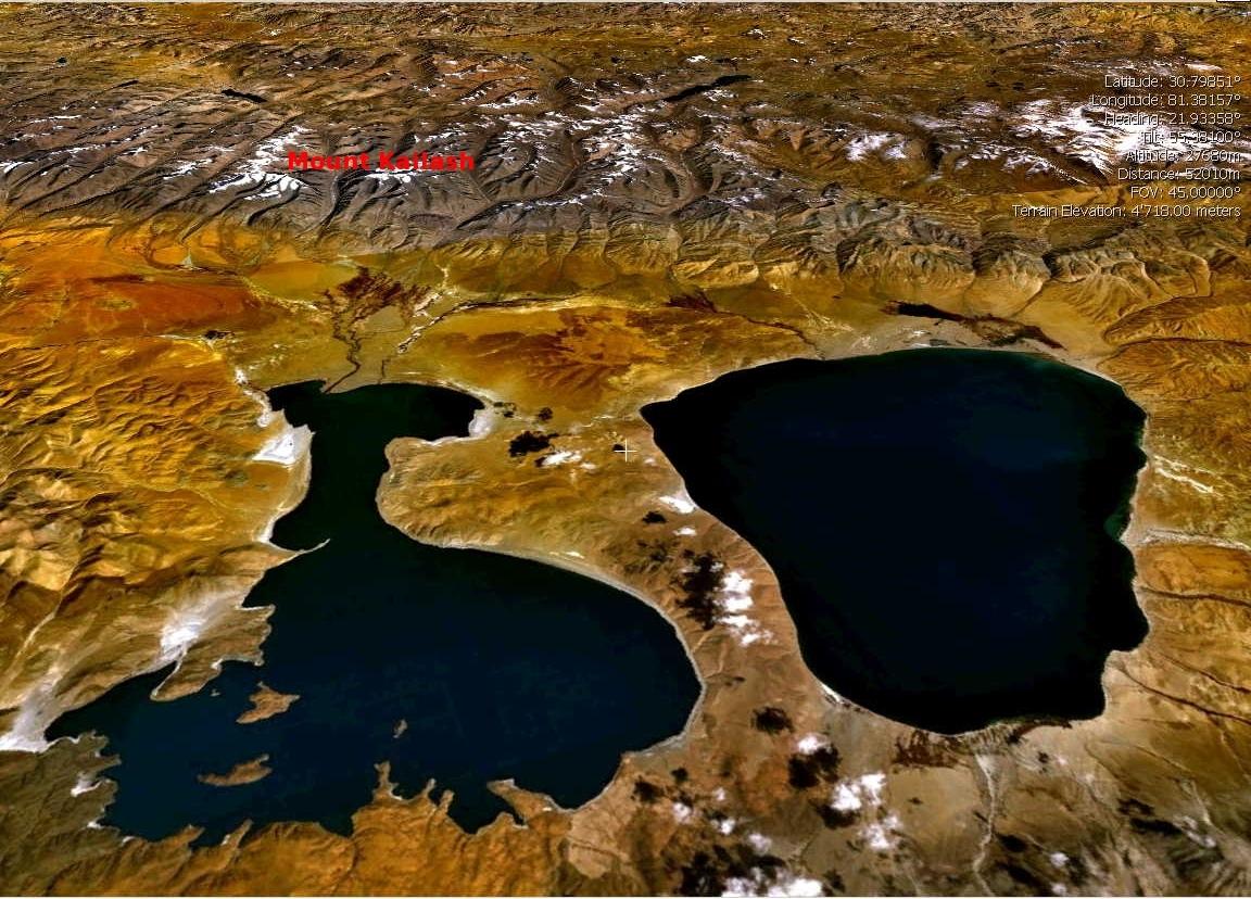 Мансаровар - озеро Бога и Ракшас Таль - озеро дьявола