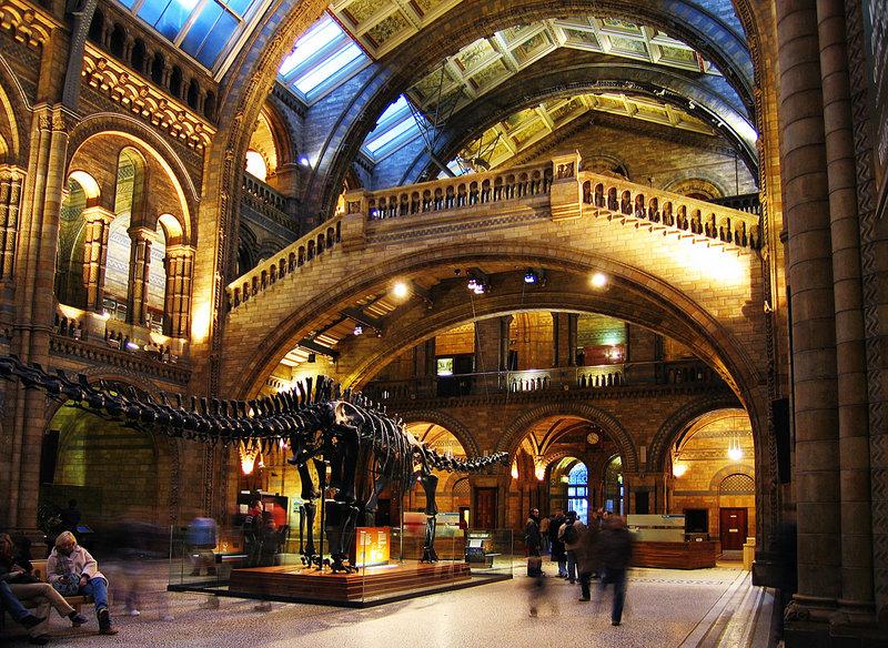 Посетить музей в Лондоне