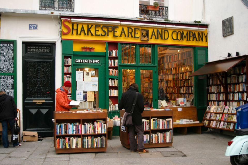 Посещение книжного магазина «Шекспир и компания»