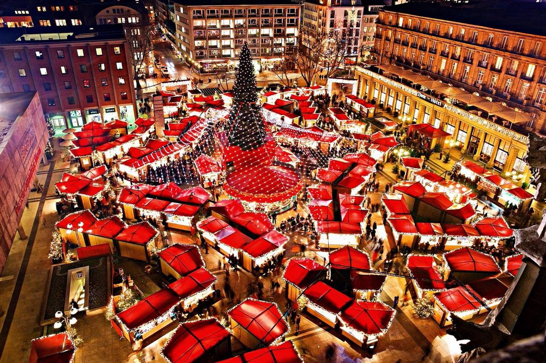 Рождественские ярмарки согревали центр Вены и Нюрнберга
