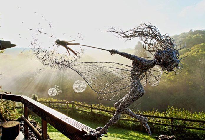 Танцовщица с одуванчиком, Робин Уайт, Стаффордшир, Великобритания