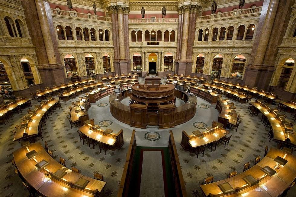 в библиотеке Конгресса