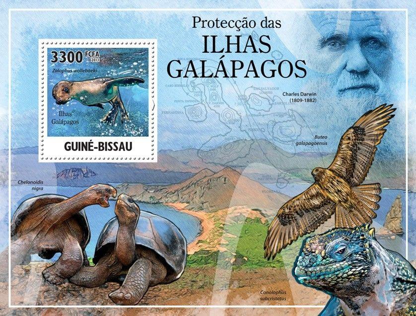 почтовые открытки Галапагосских островов