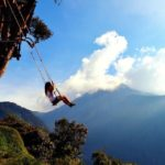 «Качели на краю света», Баньос, Эквадор