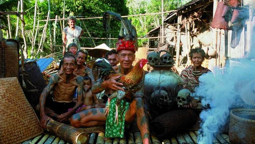 Борнео этнически разнообразен