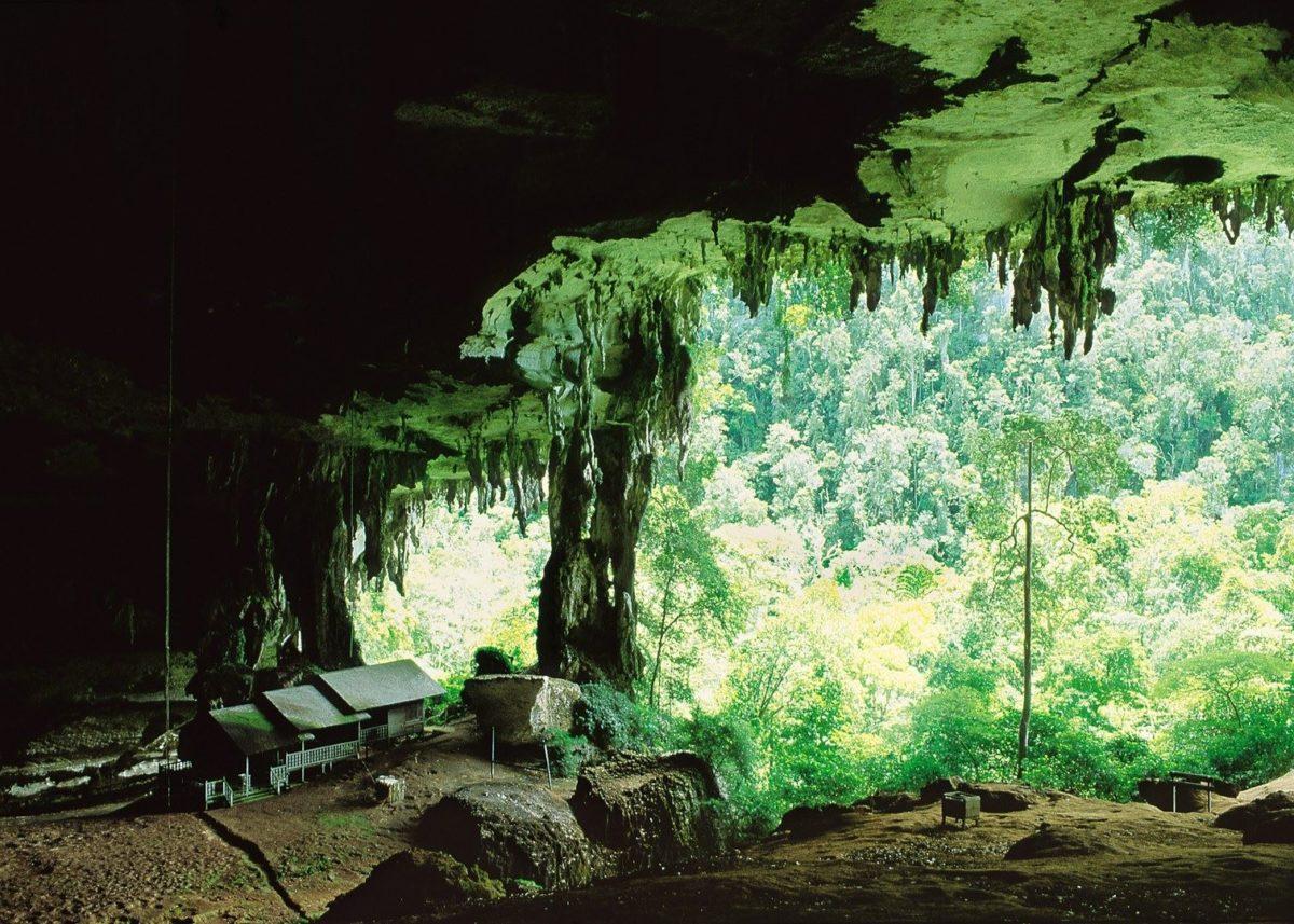 Пещеры НИА в Сараваке