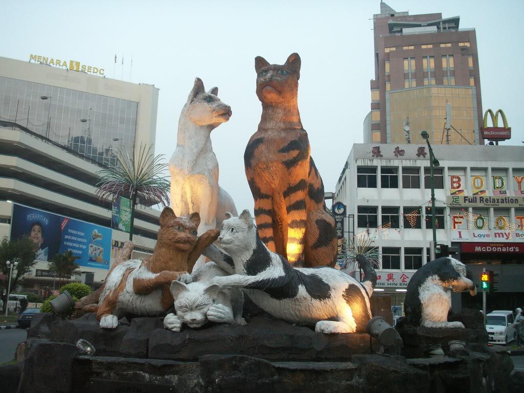 Столица Саравака-Город Кучинг