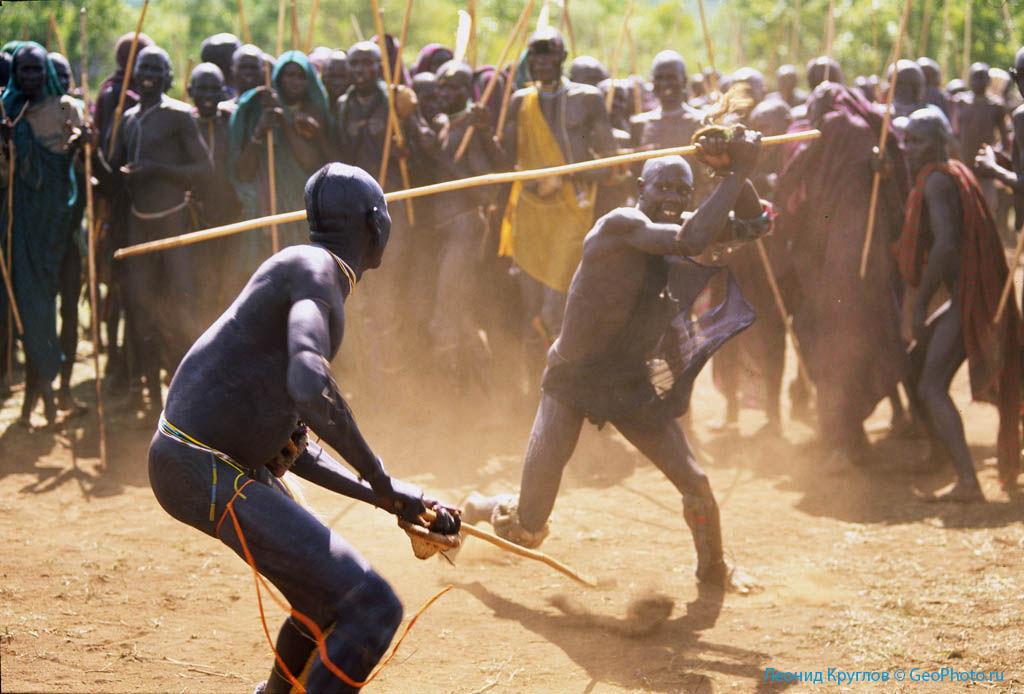 Тяжелые бои за африканскую невесту