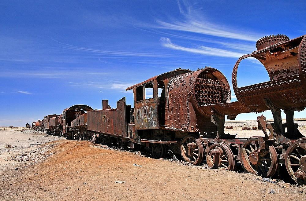 кладбище поездов