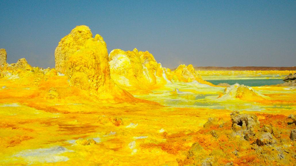 пустыня Данакил