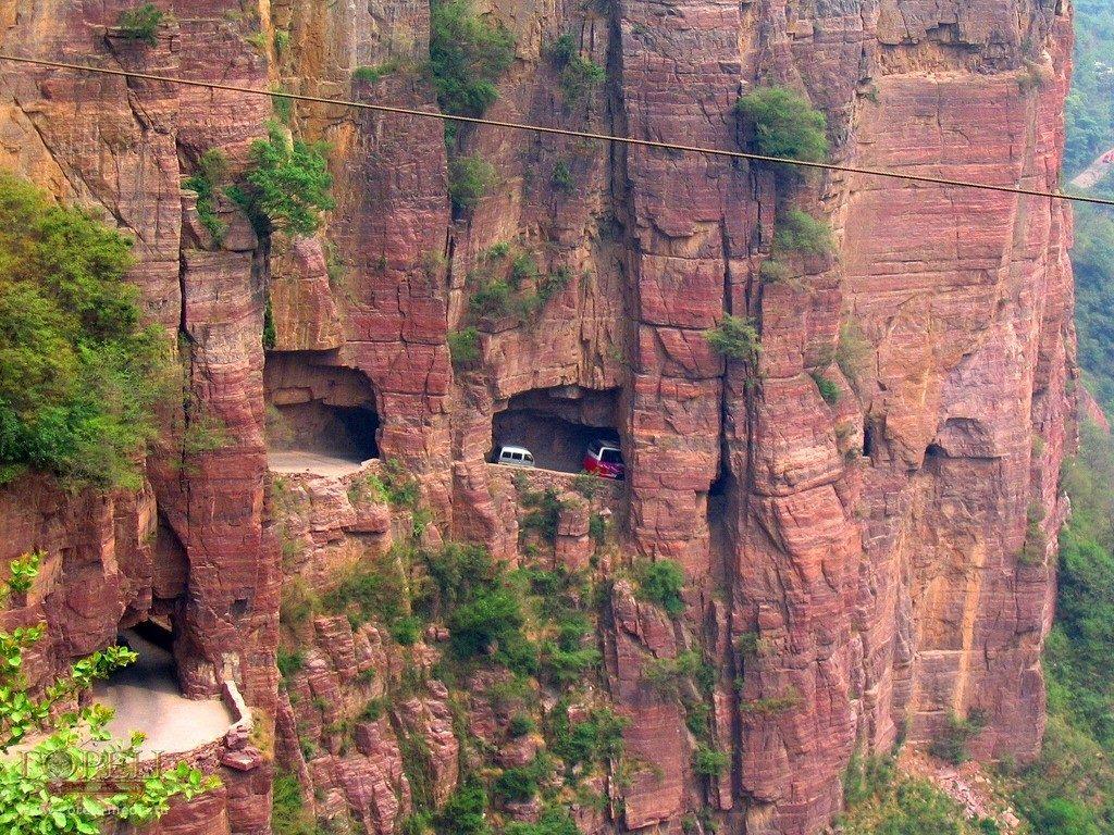 Дорога Тоннеля Guoliang,