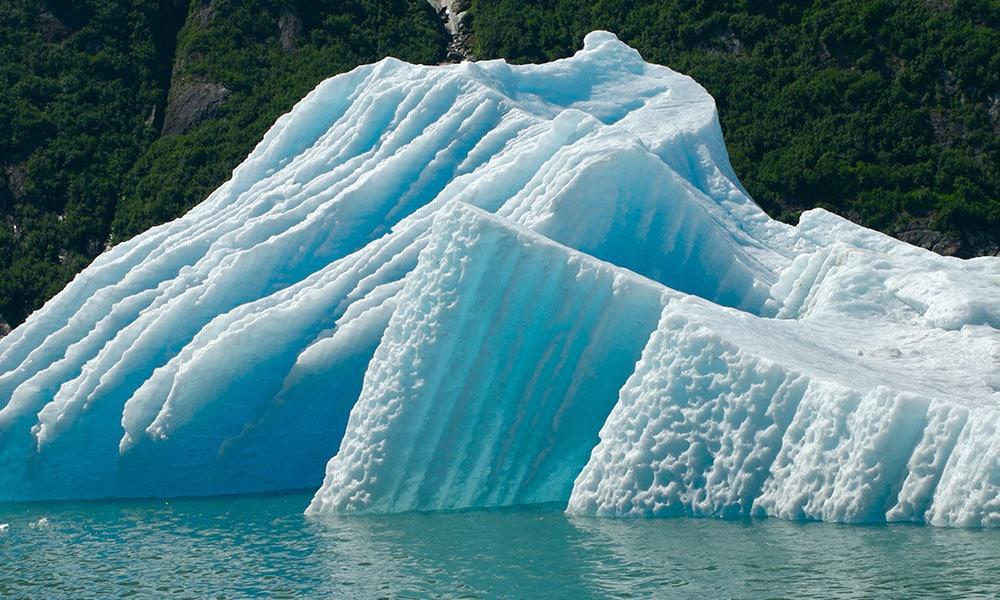 Менденхолл, один из тридцати восьми ледников, выходящих из 1500 квадратных миль ледяного поля Джуно, простирается на тринадцать миль к уровню моря. Ледяные пещеры Менденхолла очаровывают как посетителей, так и местных жителей. Поразительный синий цвет ледника создается воздухом, выдавливаемым изо льда и замороженного снега, так что ледник в конечном итоге поглощает каждый цвет, кроме синего. Новые пещеры регулярно высекаются по всему леднику в результате таяния воды, протекающей через него и под ним. Ледяные пещеры находятся внутри ледника, и доступны только тем, кто желает сплавиться на байдарках, а затем подняться по леднику. Однако ледник отступает все быстрее по мере того, как глобальное потепление нагревает океаны, и температура повышается. Эти силы постоянны поэтому совершить поездку в ледяные пещеры Менденхолл опасно, но и захватывающие. Посетителей могут ожидать неустойчивые глыбы, падающие скалы, быстро движущиеся потоки. Путешественники, которые не знакомы с этой областью, могут легко заблудиться на обратном пути. Если вы хотите посетить ледник, рекомендуем вам нанять опытного гида, который хорошо знает местность, включая текущее состояние ледяных пещер. Посетители также должны иметь достаточно времени, чтобы осмотреть окрестности. Поход может занять до восьми часов туда и обратно в зависимости от условий. Также необходимо правильное оборудование, много воды и водонепроницаемая, прочная обувь. Доступ внутрь ледяных пещер не гарантируется. Они могут быть закрыты для посетителей в любое время из-за погодных условий. Одной из троп в зоне отдыха ледника Менденхолл является тропа Западного ледника, начинающаяся в лесу. Тропа в основном ровная, но со временем становится довольно крутой. Она также может быть скользкой и грязной время от времени и включает в себя лестницы и мосты.