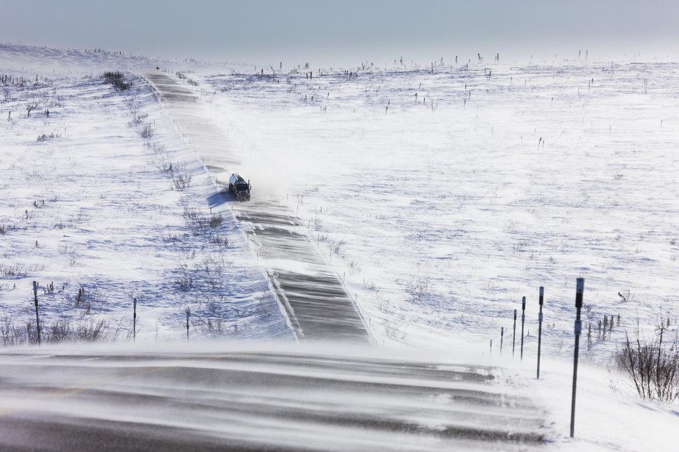Шоссе Джеймса Далтона, Аляска