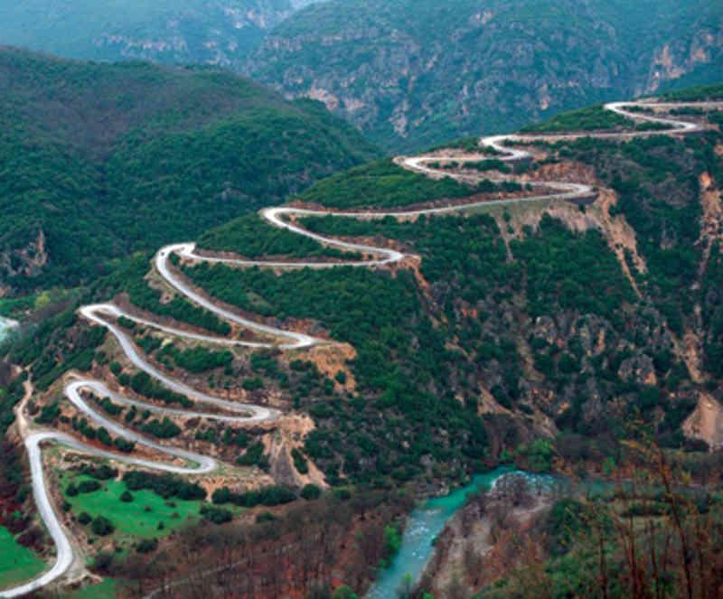 Patiopoulo-Perdikaki Road, Греция
